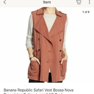 Banana Republic Safari Bossa Nova Rust Sz M